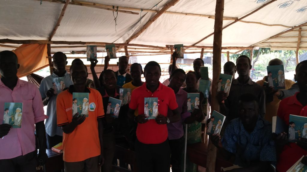 photo of South Sudanese apostles trained and ready to change their world.